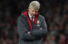 Wenger: I will accept 'consequences' of Arsenal crisis if results continue to slip