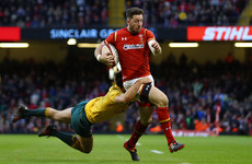 Wales wing Cuthbert signs for Exeter and rules himself out of international selection