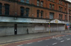 A long-shuttered Dublin city centre building is getting a facelift