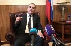 Russian ambassador: Ireland expelling diplomat is 'unwarranted, uncalled for, senseless and regrettable'
