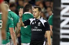 Marius van der Westhuizen to referee Ireland's first Test against Australia