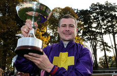9-time Irish champion jockey Pat Smullen out for 'forseeable future' following tumour diagnosis
