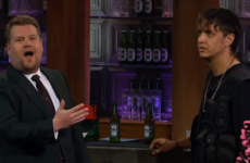 The Strokes frontman wasn't really having any of James Corden, and it's pretty awkward