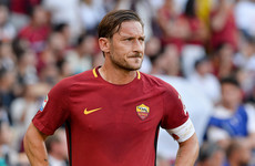 'Superhero' Totti marks 25th anniversary of Roma debut