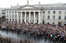 Powerful #IBelieveHer rallies took place all over Ireland today