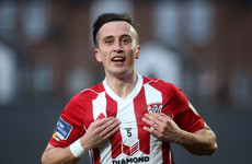 Dramatic late goal-line clearance means McEneff double enough for Candystripes to see off Saints