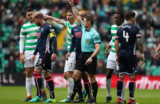 Rodgers sees red over 'disgraceful' tackle as Celtic close in on seventh straight title