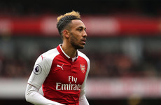 'That's what friends are for': Aubameyang happy to give up hat-trick bid