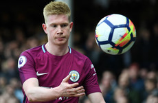 'I believe I deserve' Player of the Year - De Bruyne