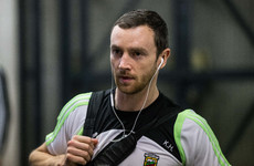 Mayo delight as Keith Higgins returns to training with the football squad