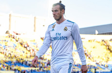 Gareth Bale left on bench for Champions League quarter-final