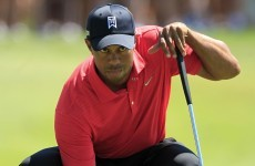 No pain for Woods, not much gain in putting
