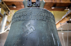 Swastika scratched off controversial Nazi church bell