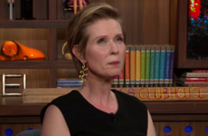 Cynthia Nixon was scarlet when fans applauded Big for getting Carrie a closet in the SATC movie