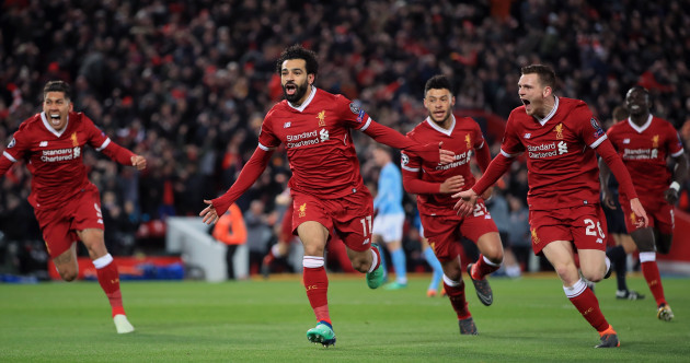 As it happened: Liverpool v Manchester City, Champions League quarter-final