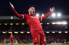 Here are all the goals from tonight's Liverpool-Man City match