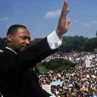 Martin Luther King Jr's son says US 'must do better' 50 years on from assassination