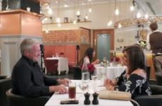 A guy on First Dates ended up sitting beside his ex-wife in the restaurant and it was very awkward