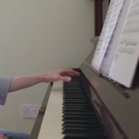 How a piece of DIY led to a lovely film about learning piano
