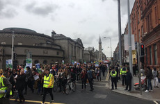 'Less talk, more action': Thousands take to streets of Dublin calling for end to homeless crisis