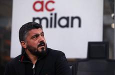 AC Milan reward Gattuso's 'hard work' with long-term contract