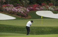 Reed it and sleep! Patrick heads to bed with two-shot lead at the Masters
