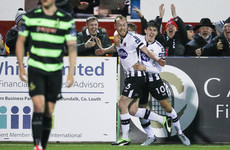 'It was a scuffed cross' - Dundalk midfielder admits first league goal in five years was far from pretty
