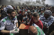 Journalist among the dead after Palestinian clashes with Israel troops in Gaza