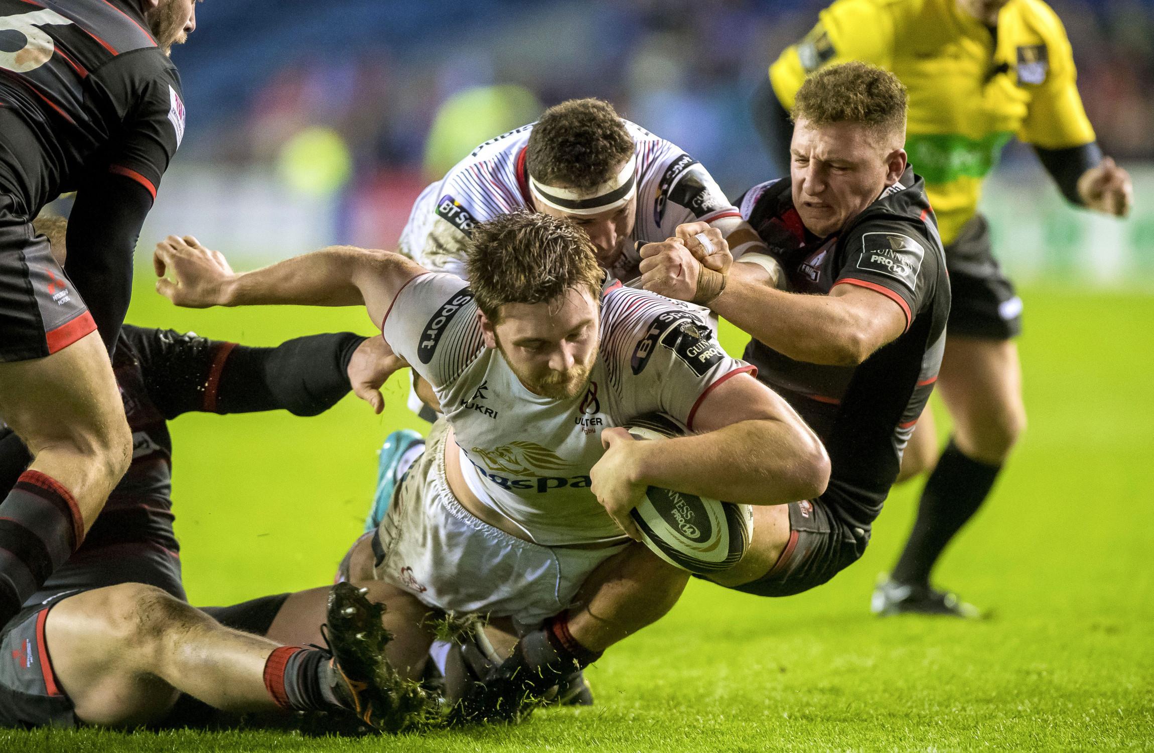 Ulster take bonus point win over Edinburgh