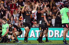 Chiefs edge past the Blues thanks to late penalty try as Waratahs rout Sunwolves