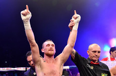 Kildare's Dennis Hogan earns his world title shot with hard-fought victory over Jimmy Kelly