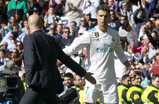 'Sometimes he needs to rest': Zidane explains Ronaldo's derby withdrawal