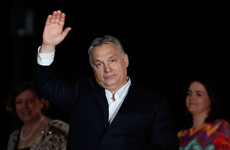 Hungary's right-wing prime minister claims victory in election