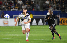Zlatan Ibrahimovic's second MLS appearance didn't go as well as his first