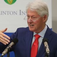 Bill Clinton warns political stalemate could result in the North going 'back into the hell of the Troubles'