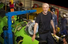 Watch: James Cameron gears up for new marine exploration project