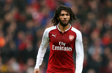 Arsenal midfielder's red card against Southampton is overturned by FA after appeal