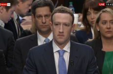 Mark Zuckerberg is getting a grilling by Congress over Facebook privacy fears