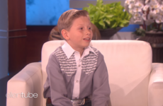 Ellen brought the yodelling kid from the meme on to her show where he got a college scholarship from Walmart