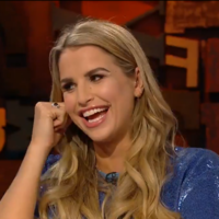 Vogue Williams accidentally revealed her baby's gender live on Cutting Edge