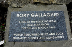 Double Take: Spot the Rory Gallagher tribute outside this Donegal nursing home