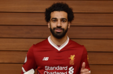 Salah's Liverpool player of the month dominance continues