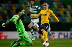 Simeone defends wasteful Griezmann as Atleti sneak through to another European semi