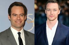 Bill Hader and James McAvoy are in talks to play the grown-up kids in the IT sequel