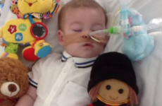 Hundreds protest outside UK hospital where terminally ill boy's life support to be turned off