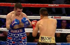 US boxer sporting Trump-inspired trunks gets battered by Mexican foe