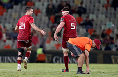 A try within seconds and a long-range penalty: Conor Murray swings victory for Munster in Bloemfontein