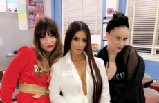 Kim K wore a name tag to her high school reunion in case anyone didn't recognise her