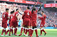 As it happened: Liverpool vs Bournemouth, Premier League