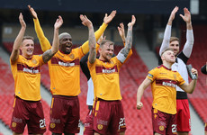 Joy for Irish pair as Motherwell reach Scottish Cup final